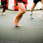 Paris-Versailles coureur pieds nus