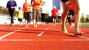 Coureurs aux pieds nus - Événement Barefooting Paris