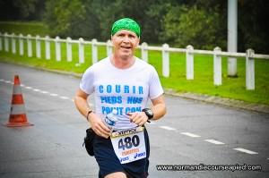 Christian Harberts Marathon Pieds Nus Seine Eure 2012