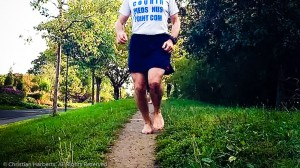 Animation Barefoot Trailball Issy-les-Moulineaux 22 septembre 2012