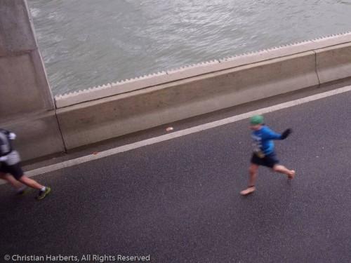 Semi-marathon Boulogne-Billancourt 2012 pieds nus