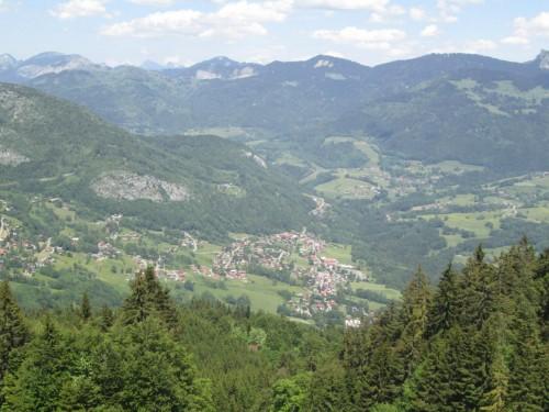 Trail du Massif des Brasses - Onnion-vue-des-Brasses