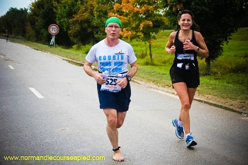 Seine Eure 2013 - Marathon pieds nus Christian Harberts