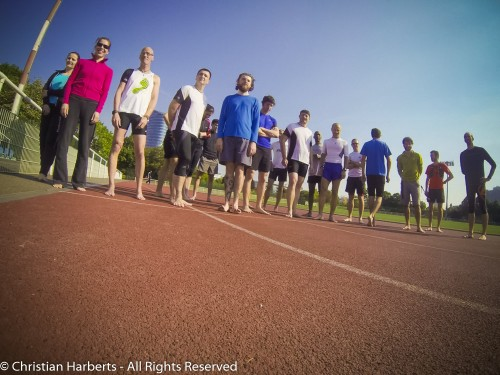 20 barefooteurs à l'IBRD2014 Paris