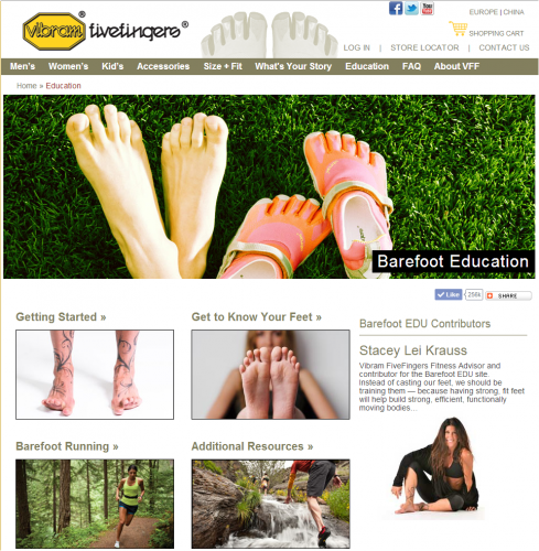 vibram-barefoot-education