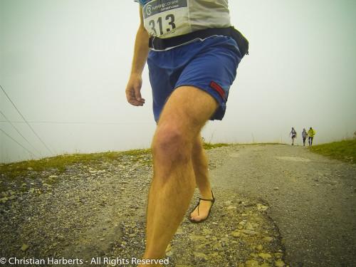 Trail du Massif des Brasses 2015 - brouillard !