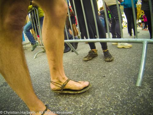 Trail du Massif des Brasses 2015 - Ruello déjà arrivé !