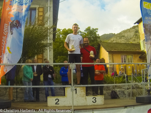 Trail du Massif des Brasses 2015 - Podium du 15km Barefooteurs