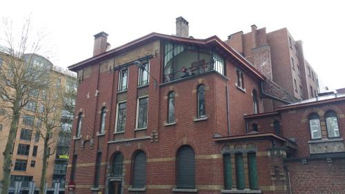 Architecture Art Nouveau à Charleroi, Belgique - la ville reserve quelques bijoux !