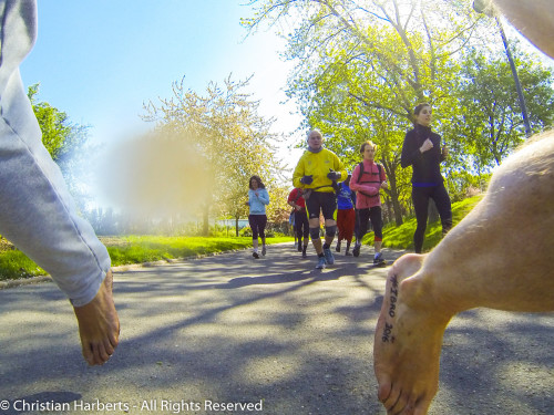 IBRD 2016 - International Barefoot Running Day - Paris / Issy-les-Moulineaux