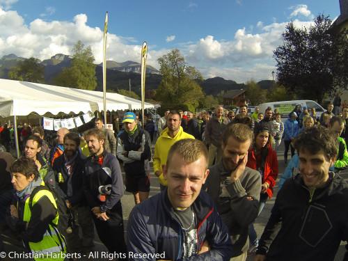 Ecotrail du Massif des Brasses 2016 - Images de la course et du Village avec les membres de la BRS France et Suisse