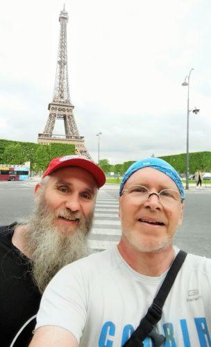 Christian et Remi sur le parcours