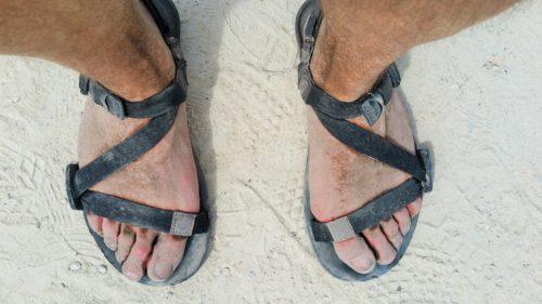 50 kilomètres en sandales Z-Trail - peu de dégâts, peu de fatigue
